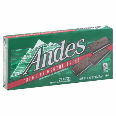 Andes Creme de Menthe Thin Mints