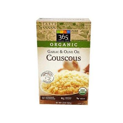 365 Organics Couscous, Garlic & Olive Oil
