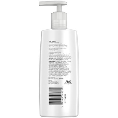 Olay Gentle Clean Foaming Face Cleanser for Sensitive Skin, 6.7 oz