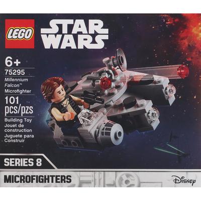 LEGO Building Toy, Star Wars Millennium Falcon Microfighter, 101 Pieces