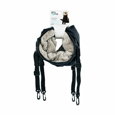 You & Me Pet Products Black Animal Hanging Tunnel