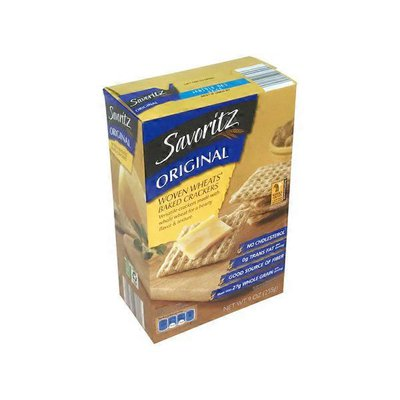 Savoritz Original Woven Wheat Crackers