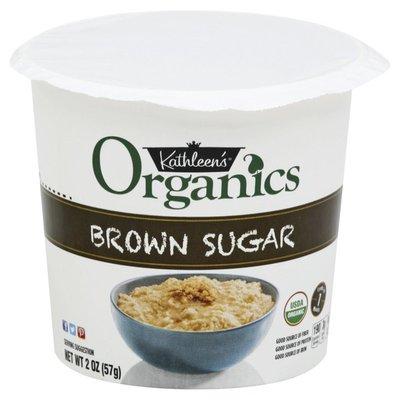 Kathleen's Oats, Organics, Brown Sugar