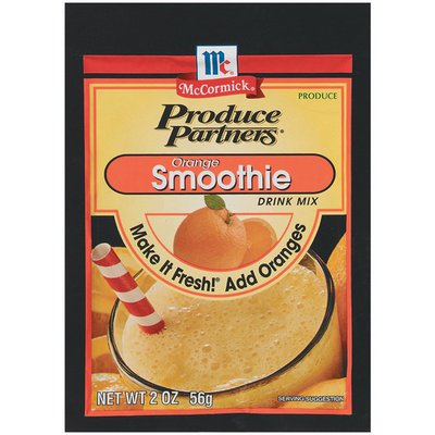 Mccormick Produce Partners Orange Smoothie Drink Mix