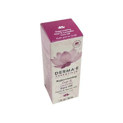 Derma E Rejuvenating Sage & Lavender Face Oil Jojoba & Marula Oils
