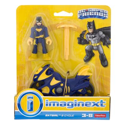 DC Super Hero Friends Batgirl & Cycle