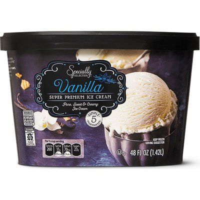 Specially Selected Vanilla Premium Ice Cream