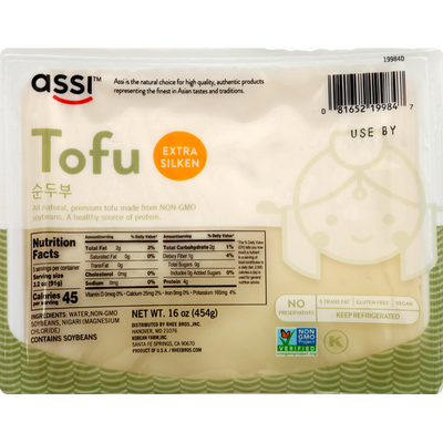 Assi Tofu, Extra Silken