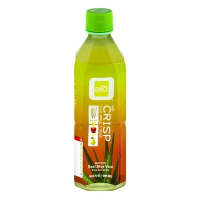 ALO Juice Drink, Aloe Vera, Crisp Fuji Apple + Pear