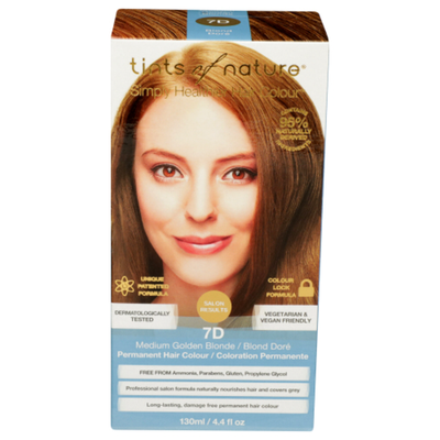 Tints Of Nature Conditioning Permanent Hair Color 120 M Medium Golden Blonde 7D