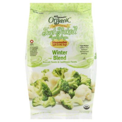 Wegmans Organic Food You Feel Good About Just Picked and Quickly Frozen Winter Blend