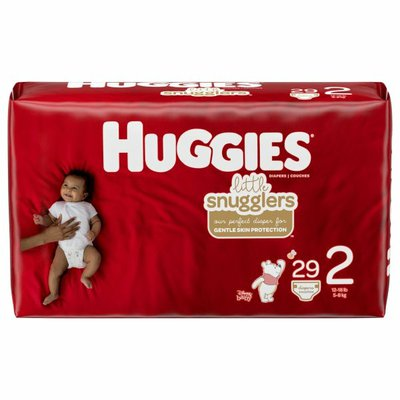 Huggies Baby Diapers, Size 2