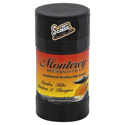 Scotts Food Products Marinade & Grilling Sauce, Monterey Mesquite