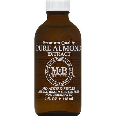 Morton & Bassett Spices Almond Extract, Pure