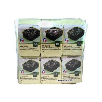 T&T Roasted Seaweed W/Grape Seed Oil