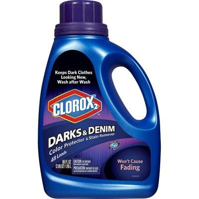 Clorox Color Protector & Stain Remover, Darks & Denim