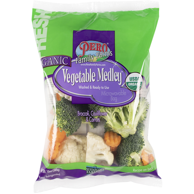 Pero Family Farms Vegetable Medley, Organic