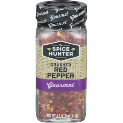 The Spice Hunter Red Chile Pepper, Crushed, Jar