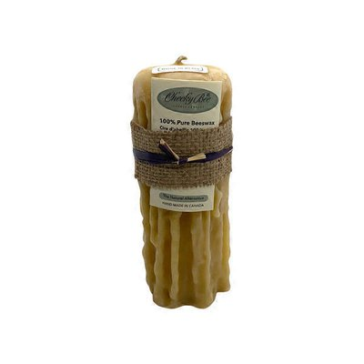 """Cheeky Bee 2.5""""x6"""" 70-80hrs Pure Gold Beeswax"""