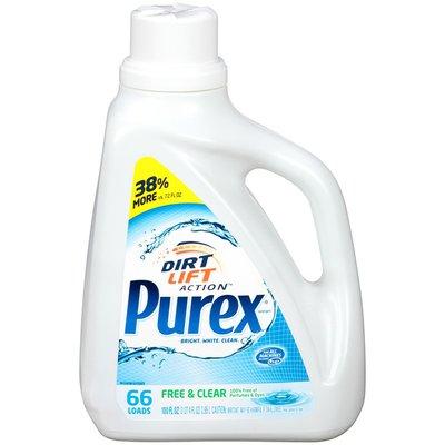 Purex Liquid Detergents Free & Clear Liquid Laundry Detergent
