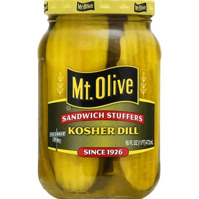 Mt. Olive Sandwich Stuffers Kosher Dill Pickles