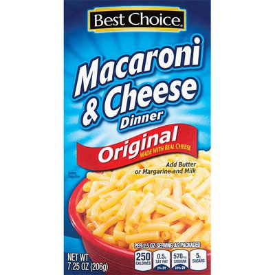 Best Choice Macaroni & Cheese Dinner