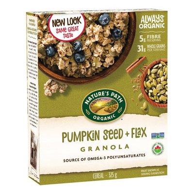 Nature's Path Pumpkin Seed Plus Flax Granola