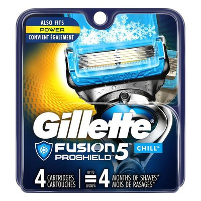 Gillette Proglide Chill Men'S Razor Blades