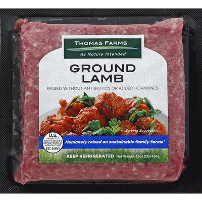 Thomas Farm Lamb, Ground, Grass Fed