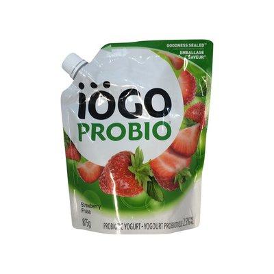 Iogo Gfpf 2.5% Strawberry Probiotic Yogurt