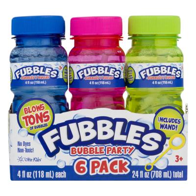 Fubbles Bubble Party