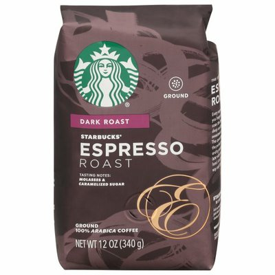 Starbucks Dark Roast Ground Coffee — Espresso Roast