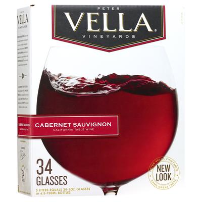 Peter Vella Cabernet Sauvignon Red Box Wine