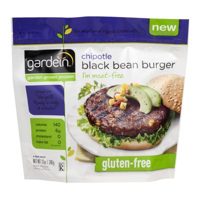 Gardein Black Bean Burger, Chipotle