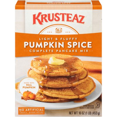 Krusteaz Pumpkin Spice Complete Pancake Mix