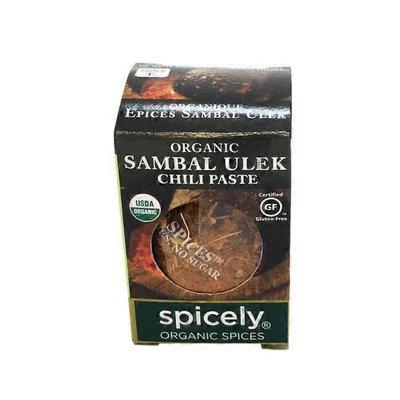 Spicely Organic Spices Organic Sambal Ulek Chili Paste