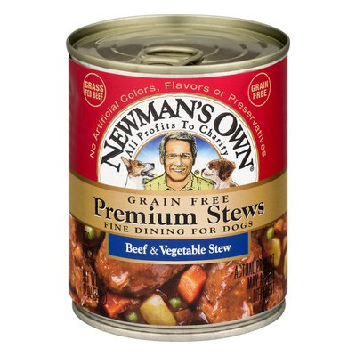 Newman's Own Grain Free Premium Stews for Dogs Beef & Vegetable