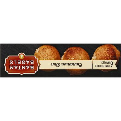 Bantam Bagels Bantam Bagels Mini Stuffed Bagels Cinnamon Sugar