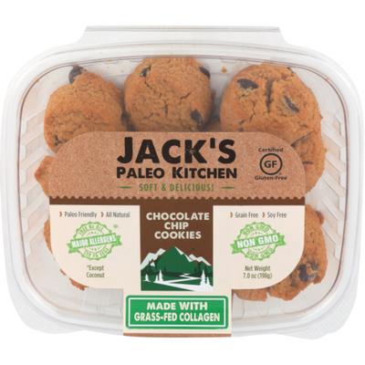 Jack's Paleo Kitchen Chocolate Chip Cookies