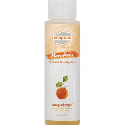 Soapbox Body Wash, Mandarin