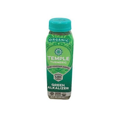 Temple Turmeric Organic Green Alkalizer Detox Beverage Sgl