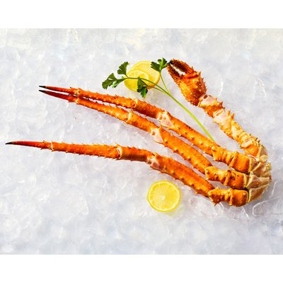 16 to 20 Count Previously Frozen Alaskan King Crab Leg & Claw