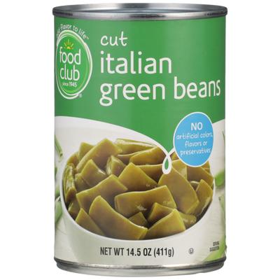 Food Club Cut Italian Green Beans
