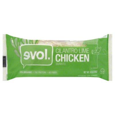 Evol Foods Cilantro Lime Chicken Burrito