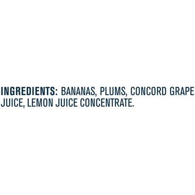Gerber Banana Plum Grape Baby Food