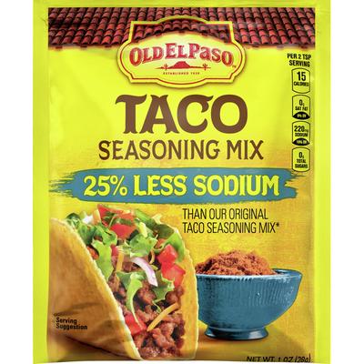 Old El Paso Seasoning Mix, Taco