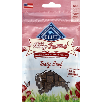 Blue Treats for Cats, Natural Soft-Moist, Tasty Beef