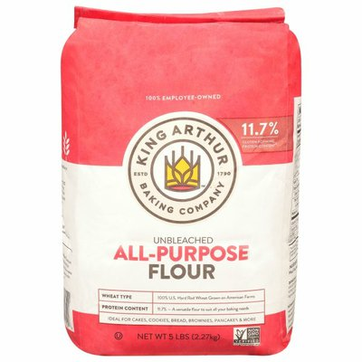 King Arthur Baking Company All-Purpose Flour, Unbleached