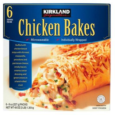 Kirkland Signature Chicken Bakes, 6 x 8 oz