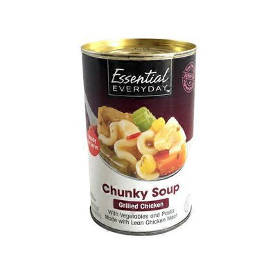Essential Everyday Chunky Grilled Chicken Soup
